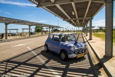 Portugal - Classic Car Road Trip from the Netherlands to Portugal: Our own 1974 Mini Authi somewhere in France. We started our road trip in the...