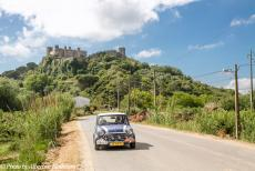 Portugal - Classic Car Road Trip Portugal in our own Mini Authi: After visiting the monasteries of Alcobaça and Batalha, we drove...