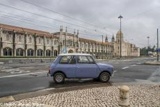 Portugal - Classic Car Road Trip Portugal: We drove in our own Mini Authi to the Belém District of Lisbon to visit to the Monastery of...