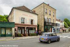 Portugal - Classic Car Road Trip: In the classic Mini we drove past the Auberge Ravoux in Auvers-sur Oise, France. Auberge Ravoux, also known as...