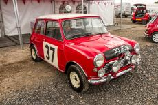 IMM 2019 Bristol - Classic Car Road Trip, IMM 2019 Bristol: Paddy Hopkirk and his co-driver Henry Liddon won the 1964 Monte Carlo Rally in a Morris Mini Cooper S,...