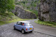 IMM 2019 Bristol - Classic Car Road Trip: In our own Mini Authi we drove through the Cheddar Gorge, the deepest natural gorge in England. The spectacular Cliff...