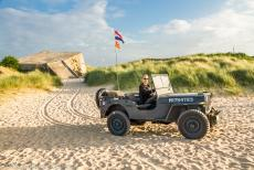 Normandy 2014 - Classic Car Road Trip Normandy: During the Road Trip through Normandy in our own 1942 Ford GPW World War II Jeep, we also visited Juno...