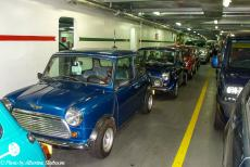 Longbridge IMM - Classic Car Road Trip: Our classic minis on board of the car ferry from Dunkirk to Dover. Several other classic minis and their owners...