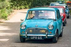 Longbridge IMM - Classic Car Road Trip: The Mini Heritage Run 2009 from the British Motor Museum at Gaydon in Warwickshire to the IMM at Longbridge, 50 minis of...