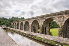 Longbridge IMM - Classic Car Road Trip: A narrowboat on the Llangollen Canal and the Chirk Aqueduct. On our road trip, we drove to the Chirk Aqueduct and the Chirk...