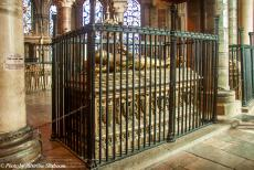 Longbridge IMM - Classic Car Road Trip: Canterbury Cathedral, the Tomb of the Black Prince, one of the most notable tombs in Canterbury Cathedral. The Black...